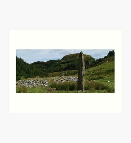 Kintraw From the West Art Print