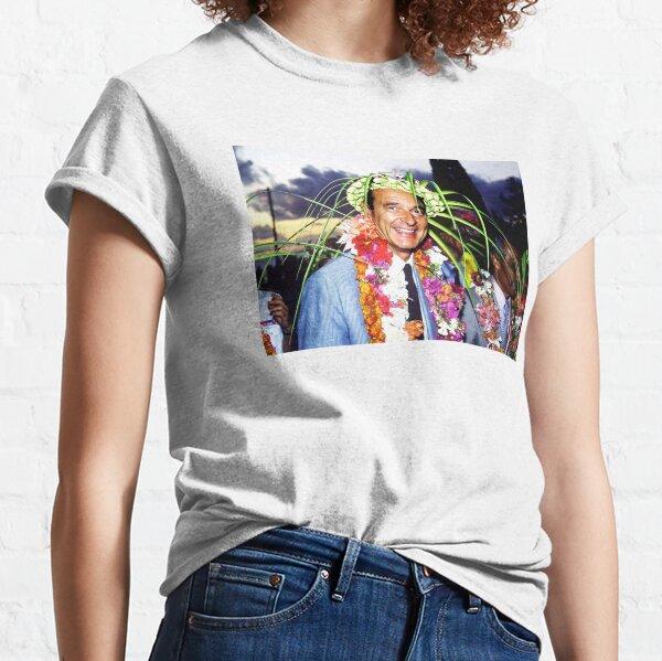 T shirt Jacques Chirac à Nouméa  T-shirt classique