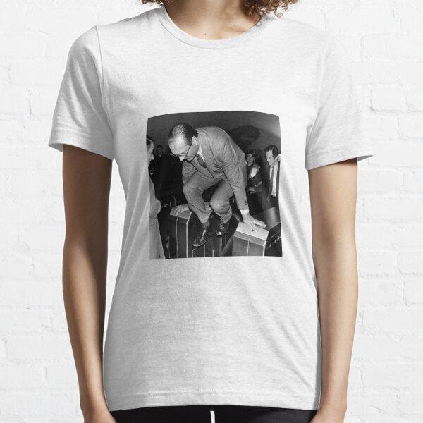 Jacques Chirac fraudeur sticker T-shirt essentiel