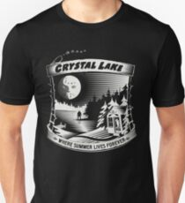 Camp Crystal Lake: Where Summer Lives Forever T-Shirt