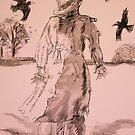 Spirit of the Field  Sketch by leunig
