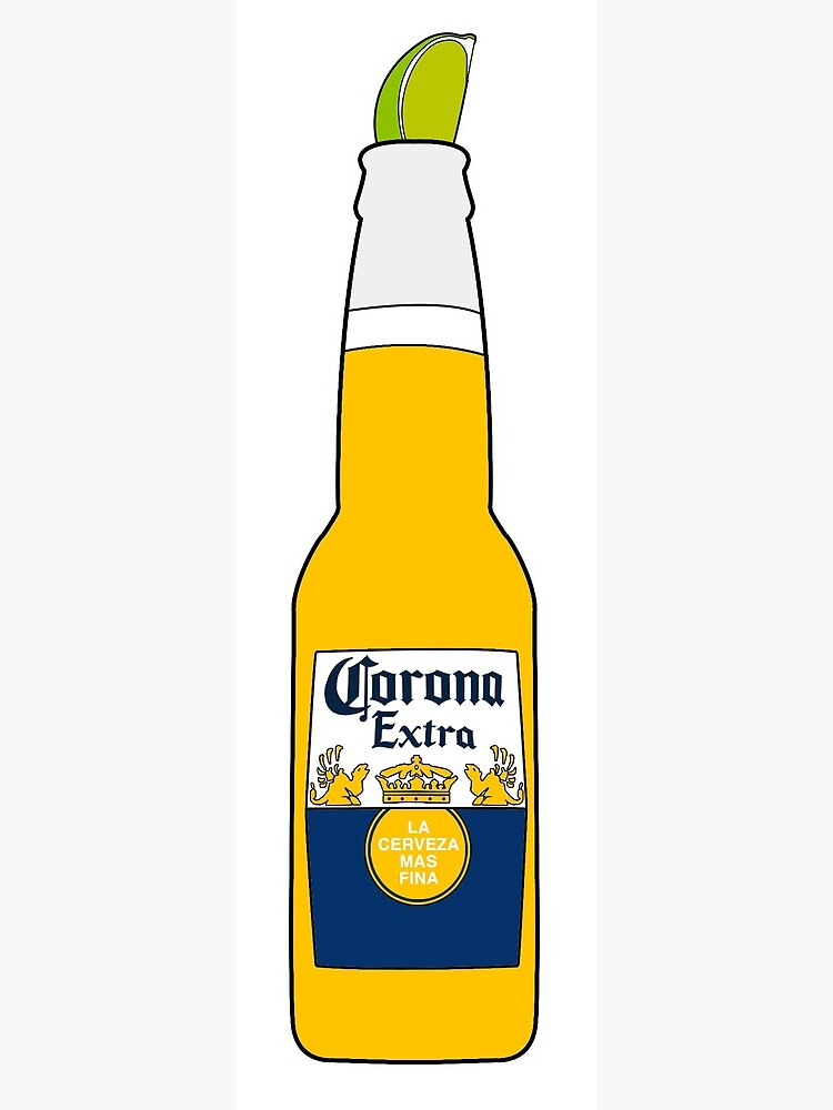 Corona With Lime Greeting Card By Jdoggsmfc Redbubble
