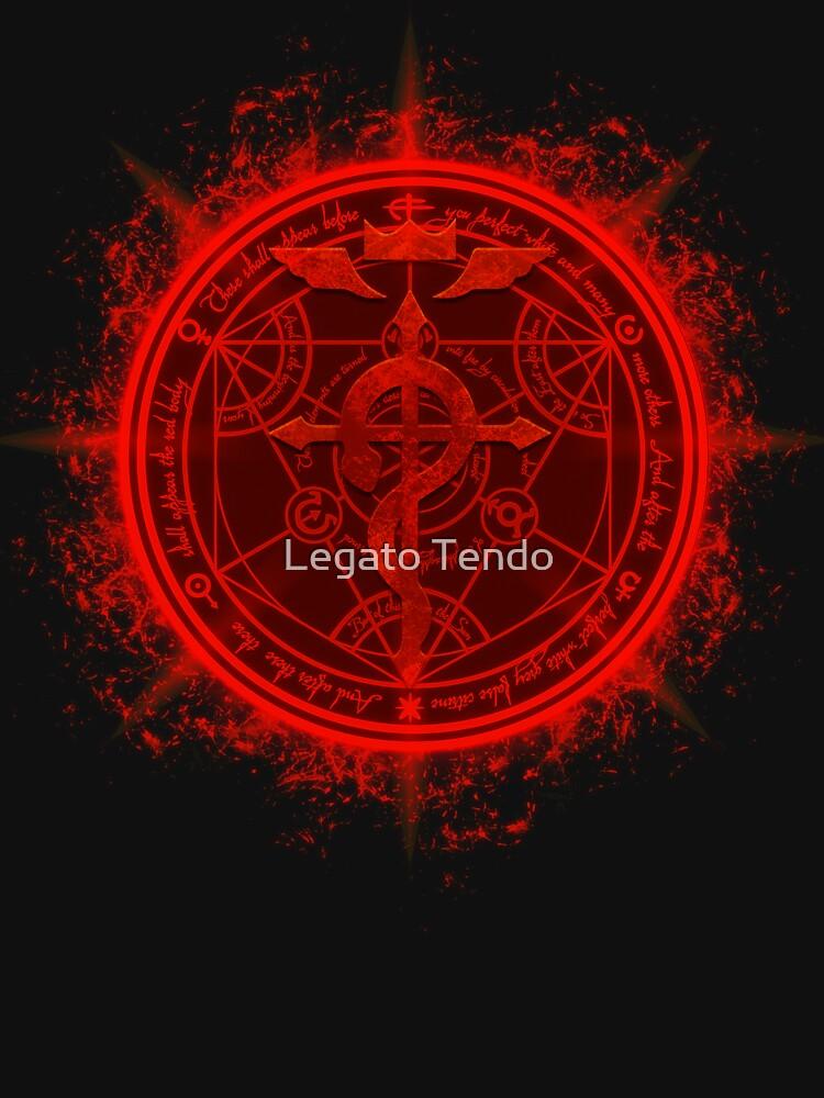 Human Transmutation Circle. Fullmetal Alchemist by LAZARE-TENDO