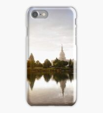 Mormon Temple - Idaho Falls Sunrise iPhone Case/Skin