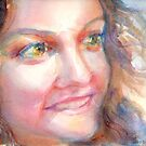 A Portrait A Day 38 - Gina by Yevgenia Watts