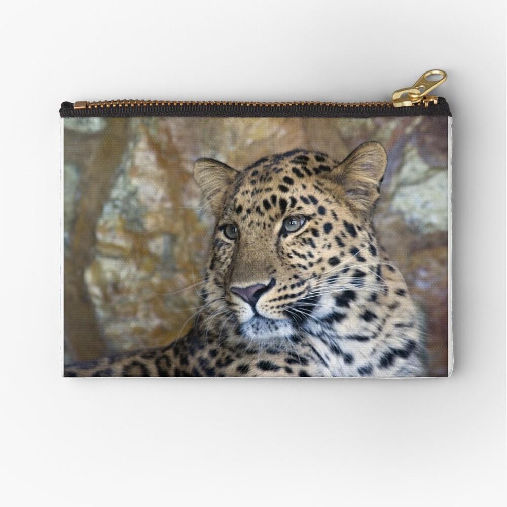 leopard  Zipper Pouch