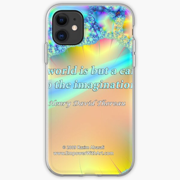 World Is But A Canvas iPhone Soft Case