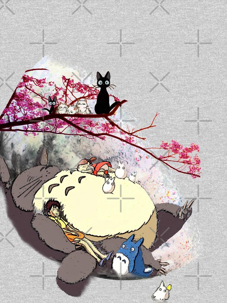 Miazaki world by painterfrank