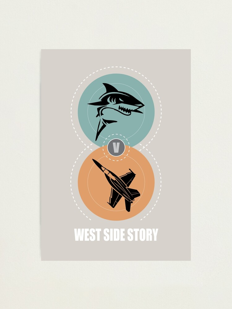 Alternate view of West Side Story - Alternative Movie Poster Photographic Print