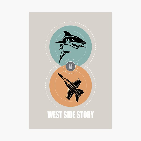 West Side Story - Alternative Movie Poster Photographic Print