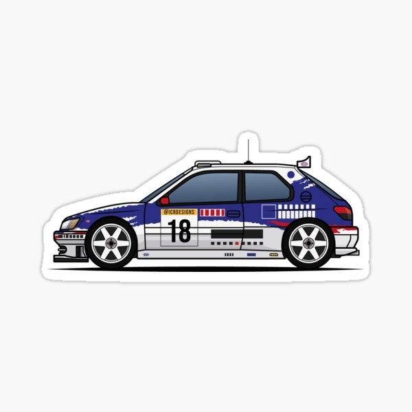 306 MAXI KIT CAR Pegatina
