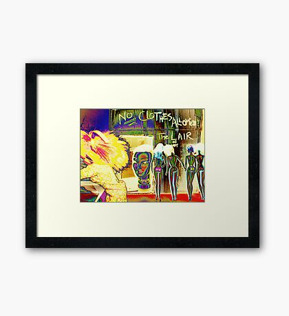 Shunned By The Brigade Framed Print
