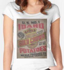Potato Sack Sex Kitten Women's Fitted Scoop T-Shirt