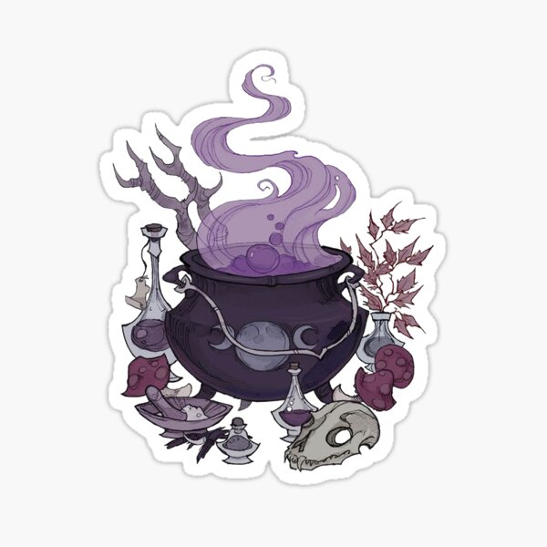 Cauldron   Sticker