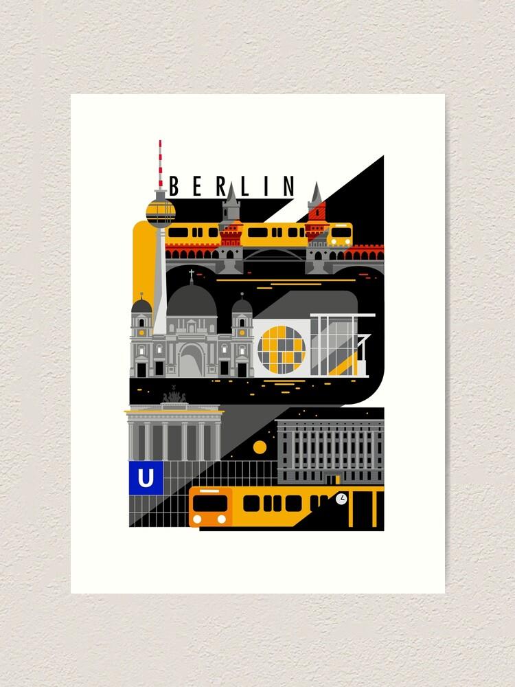 Alternate view of Berlin bei Nacht Art Print