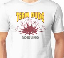 The Dude Bowling T-Shirt Unisex T-Shirt