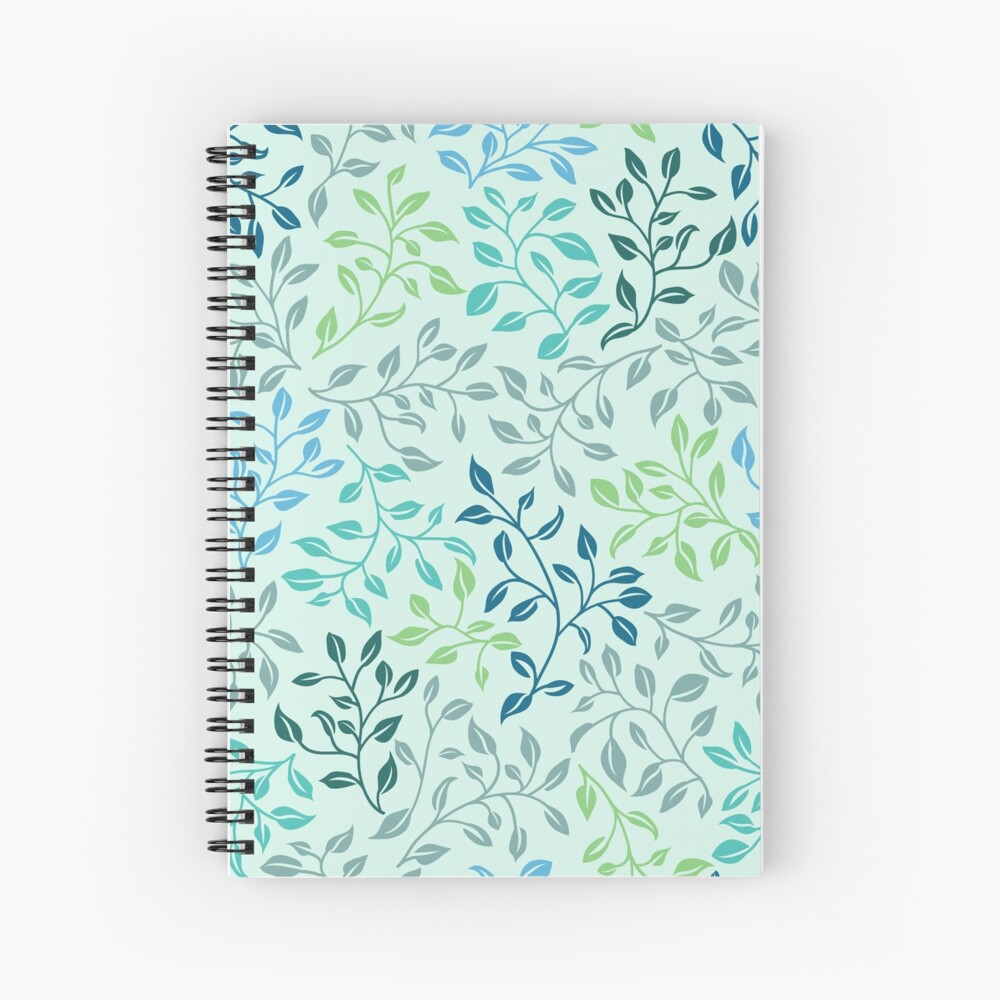 Leafy Love Spiral Notebook
