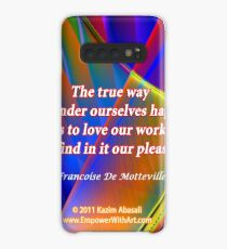 The True Way To Render Ourselves Happy Case/Skin for Samsung Galaxy