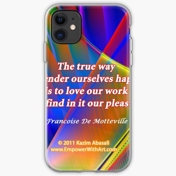 The True Way To Render Ourselves Happy iPhone Soft Case