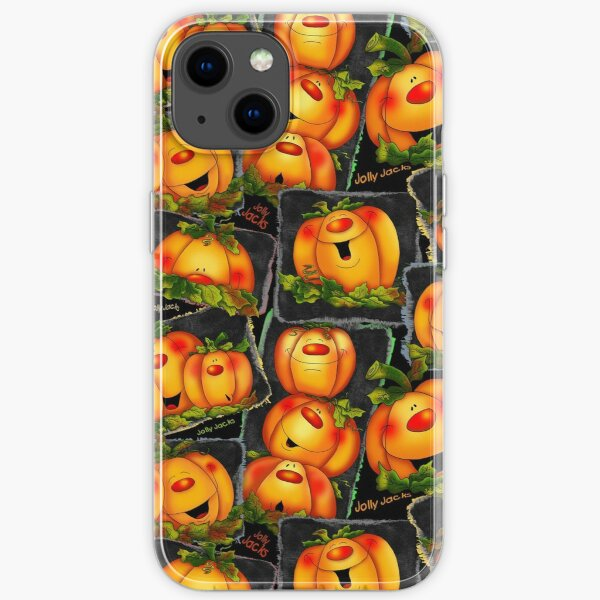 Jolly Jacks and Witchy Moons iPhone Soft Case