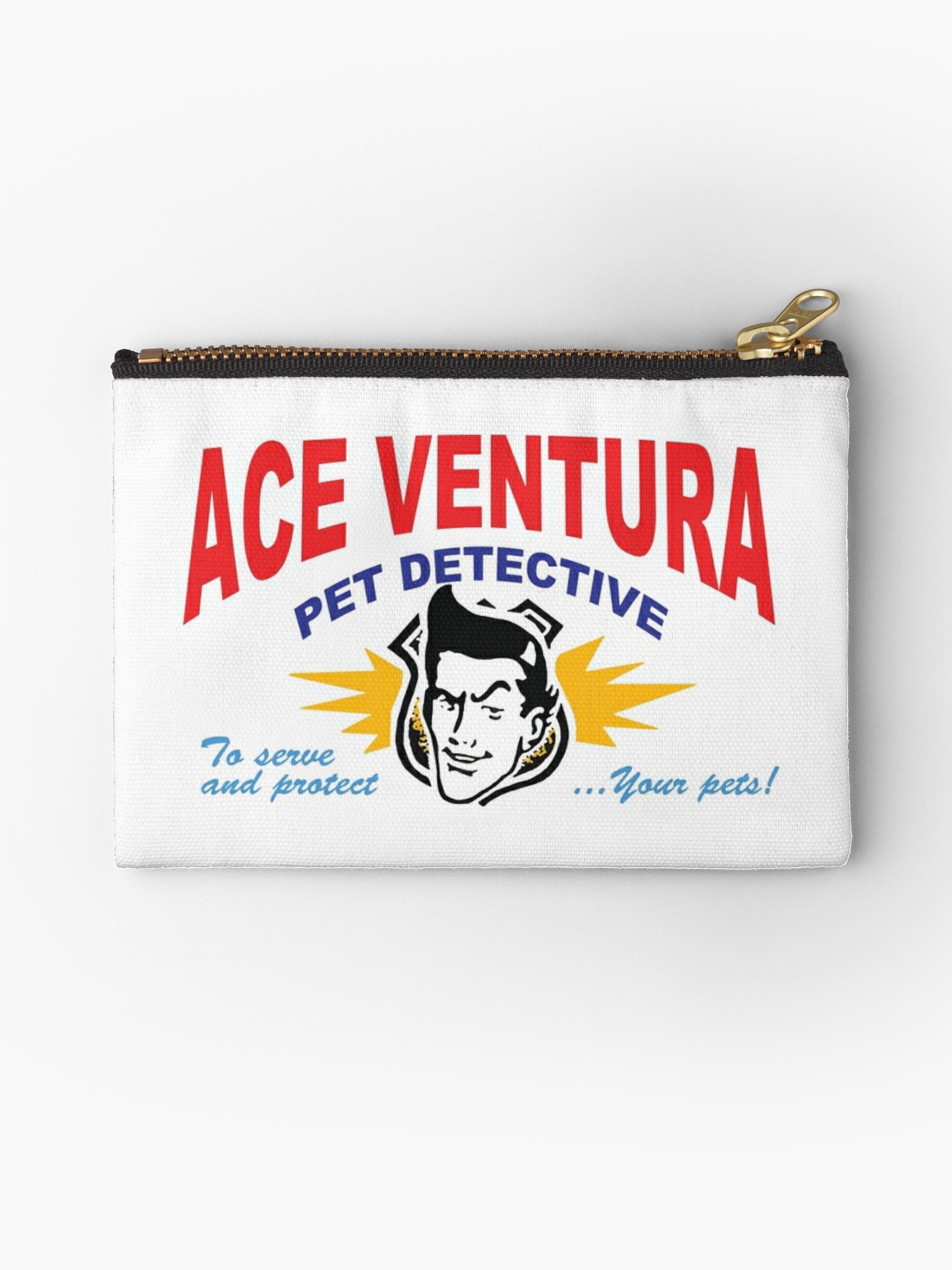 Ace Ventura Pet Detective shirt (Business Card)\