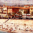 city beach in Nice by olga  hutsul