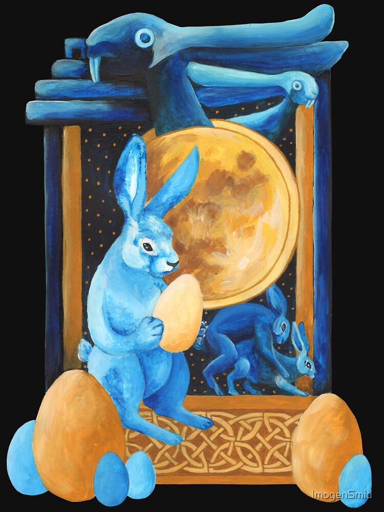 Lunar Rabbits and Hares by ImogenSmid