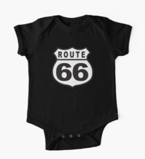 Route 66 Retro Short Sleeve Baby One-Piece