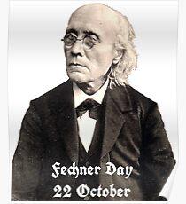 Gustav Fechner Day Poster