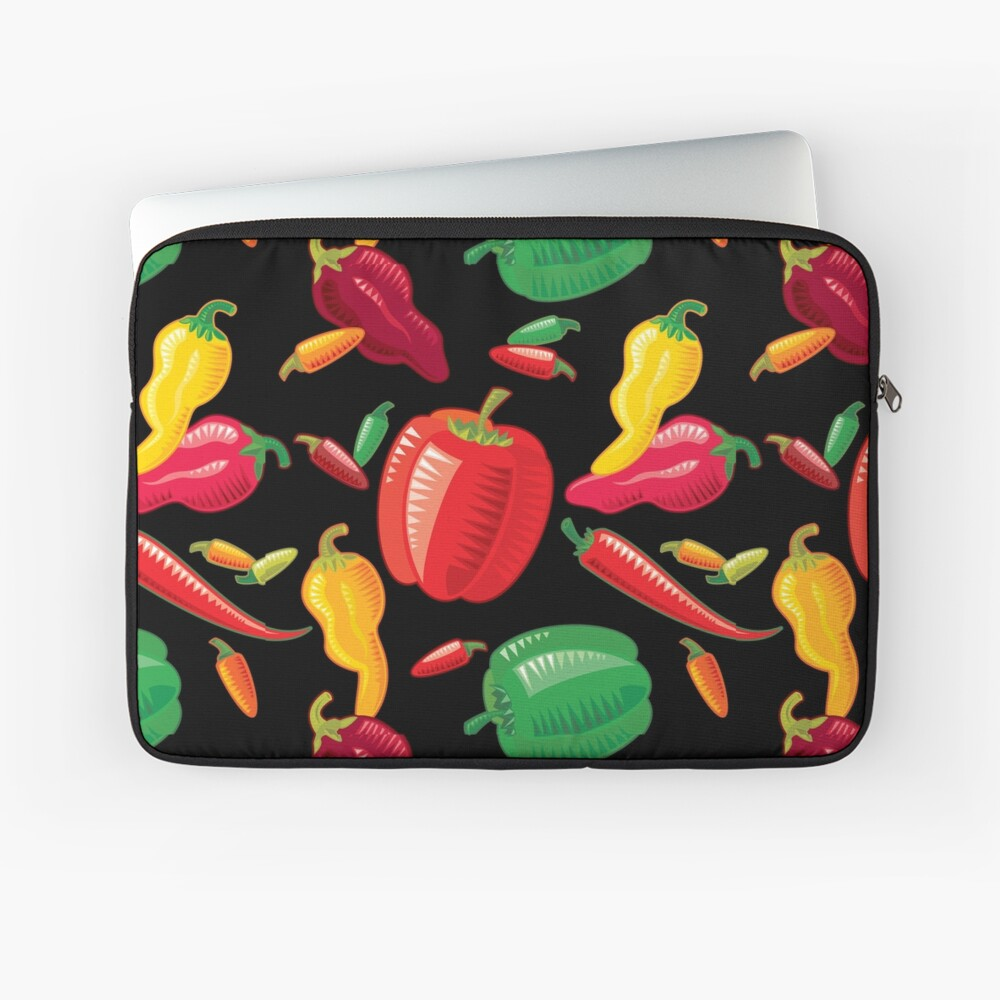 Hot Peppers Laptop Sleeve