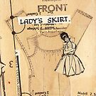 ladies skirt, 2010 by Thelma Van Rensburg