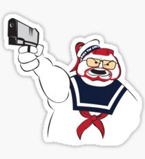Over the Puft Line! Sticker