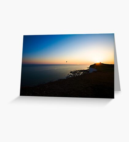 Into the evening light Greeting Card