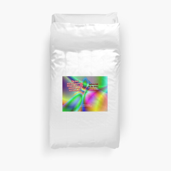 The Best And Most Beautiful Things In The World Duvet Cover