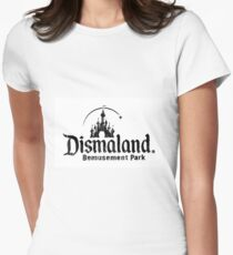 Banksy's Dismaland Logo Women's Fitted T-Shirt