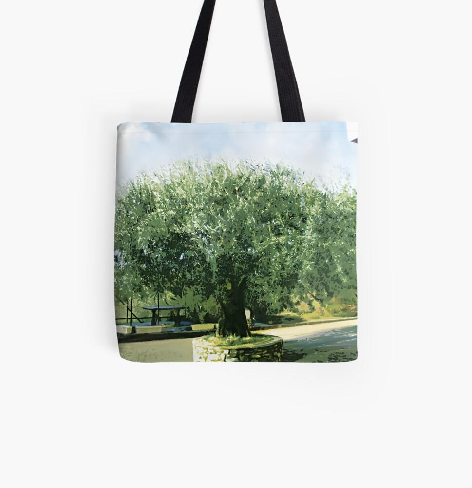 Olivier All Over Print Tote Bag