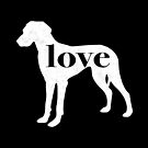 Great Dane Natural Dog Love - A Minimalist Distressed Vintage Style Design for Dog Lovers by traciwithani