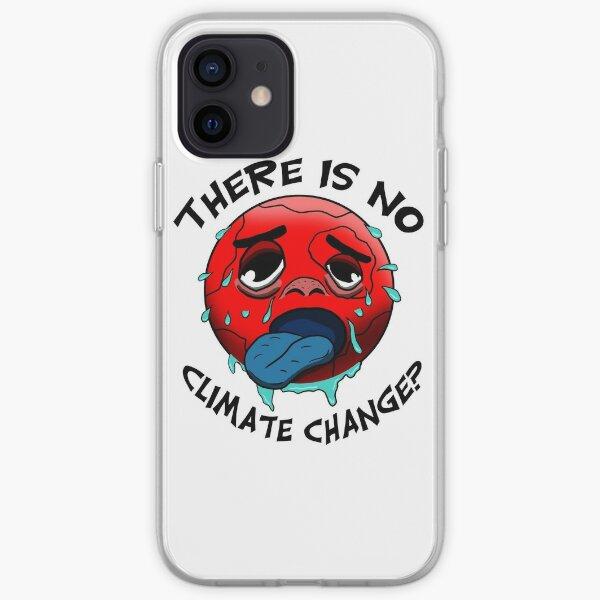 Klimawandel gibt es nicht? - Lustiges Umweltschutz-Shirt iPhone Flexible Hülle