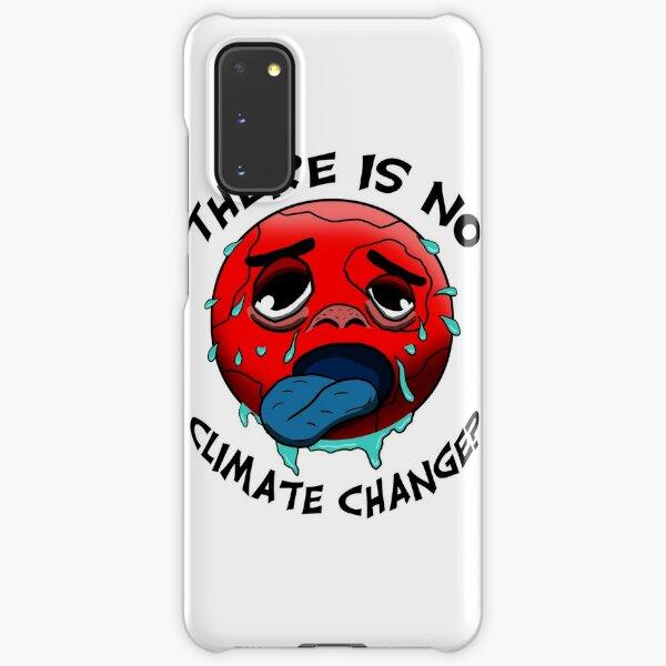 Klimawandel gibt es nicht? - Lustiges Umweltschutz-Shirt Samsung Galaxy Leichte Hülle