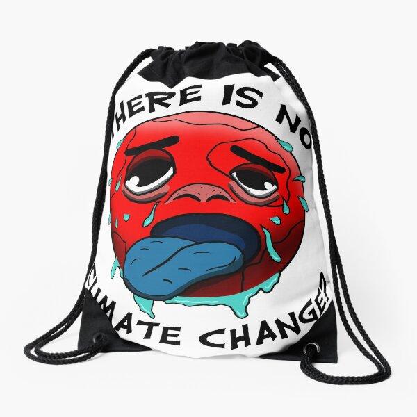 Klimawandel gibt es nicht? - Lustiges Umweltschutz-Shirt Turnbeutel
