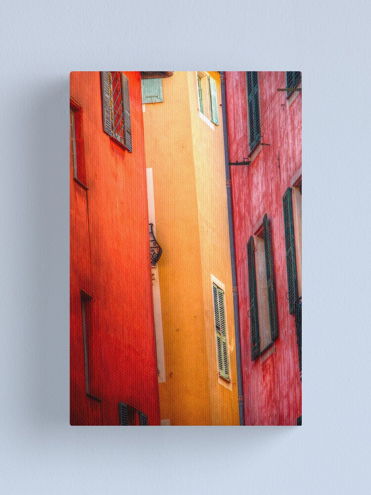 Alternate view of Windows - Nice Canvas Print
