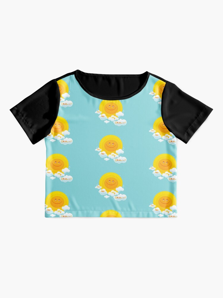Alternate view of You Are My Sunshine! Chiffon Top