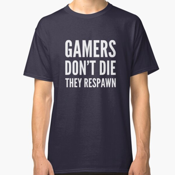 CAMPER MENS T SHIRT FUNNY GAMER GAMING GIFT PRESENT IDEA PS4 XBOX PC GAMER