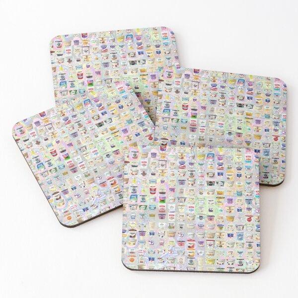 Yogurt Coasters (Set of 4)