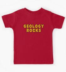 Geology Rocks Kids Tee