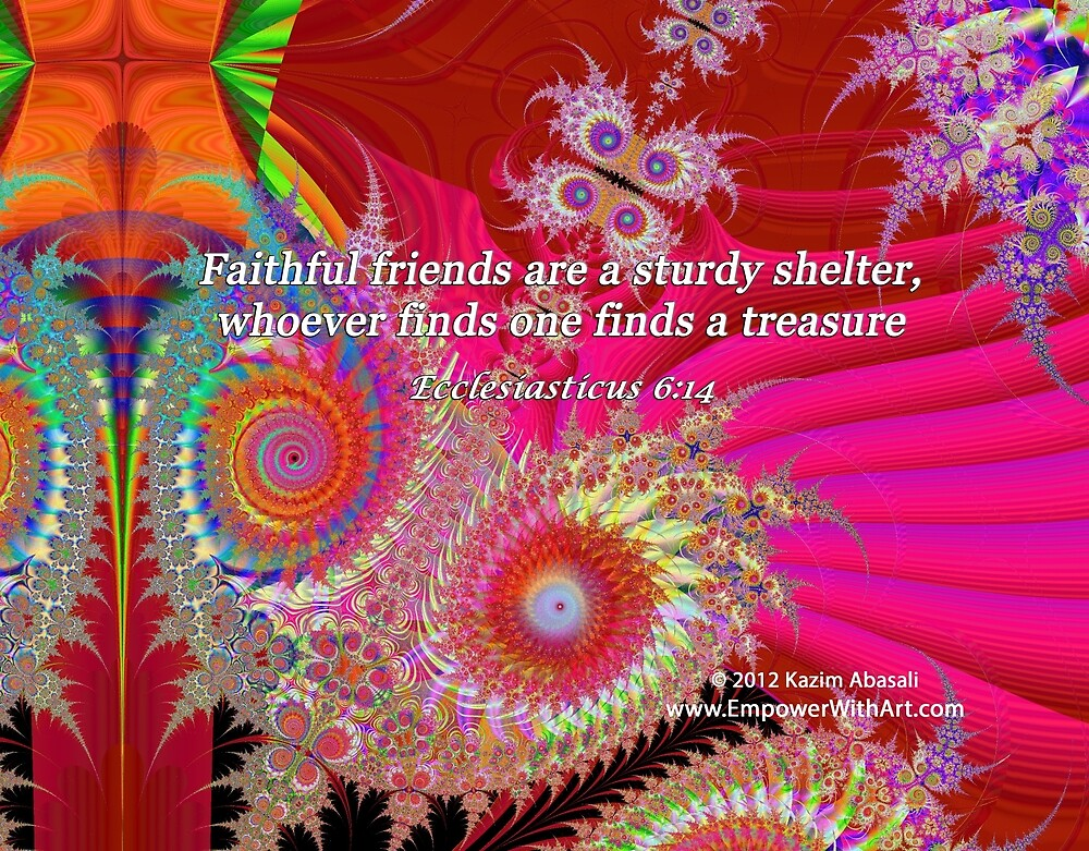 Faithful Friends by empowerwithart