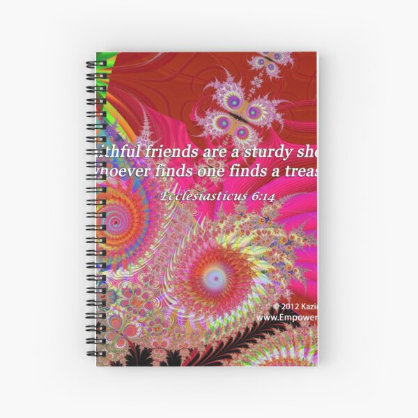 Faithful Friends Spiral Notebook