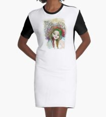 Coquette Graphic T-Shirt Dress