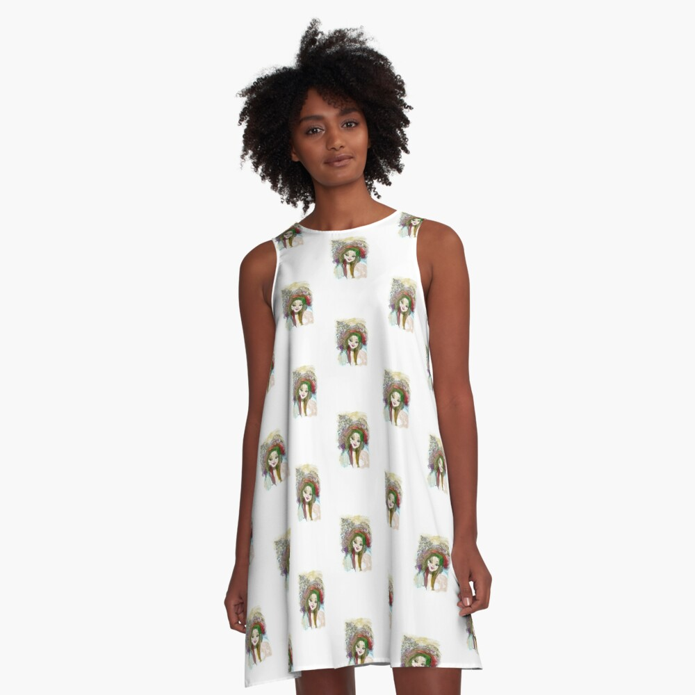 Coquette A-Line Dress