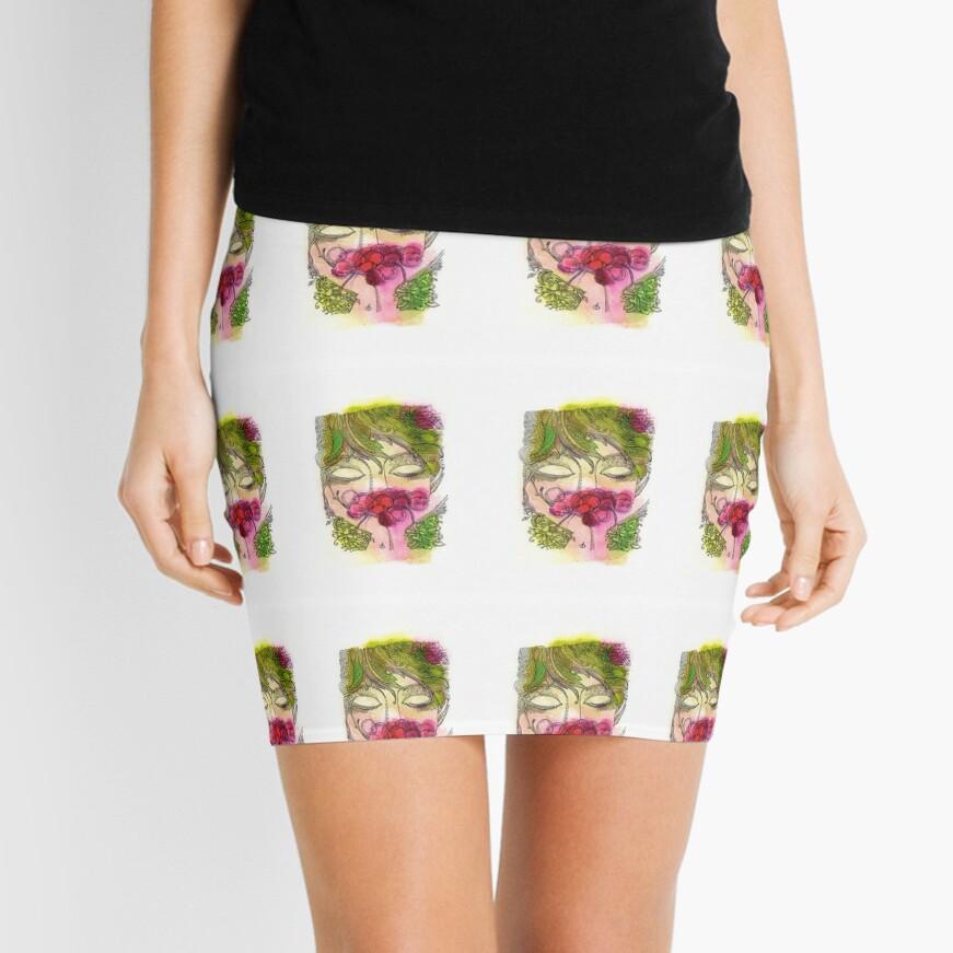 Cherry Girl Mini Skirt